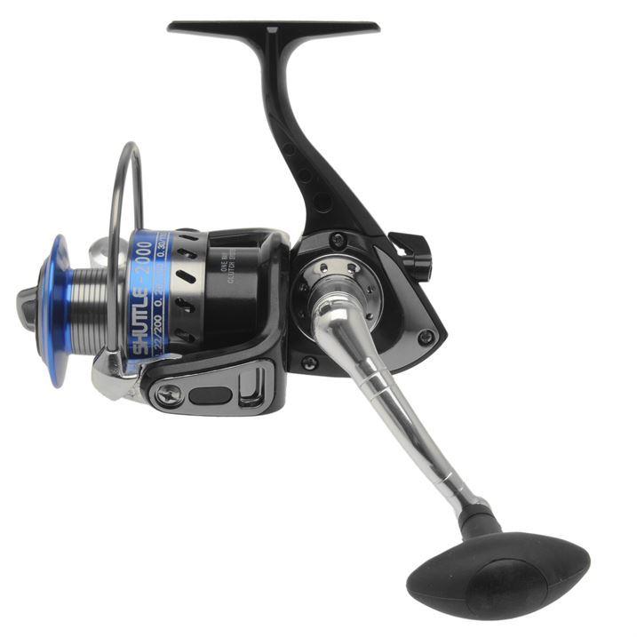 Silstar shuttle fd reel spinning rods fishing equipment for Ebay used fishing reels