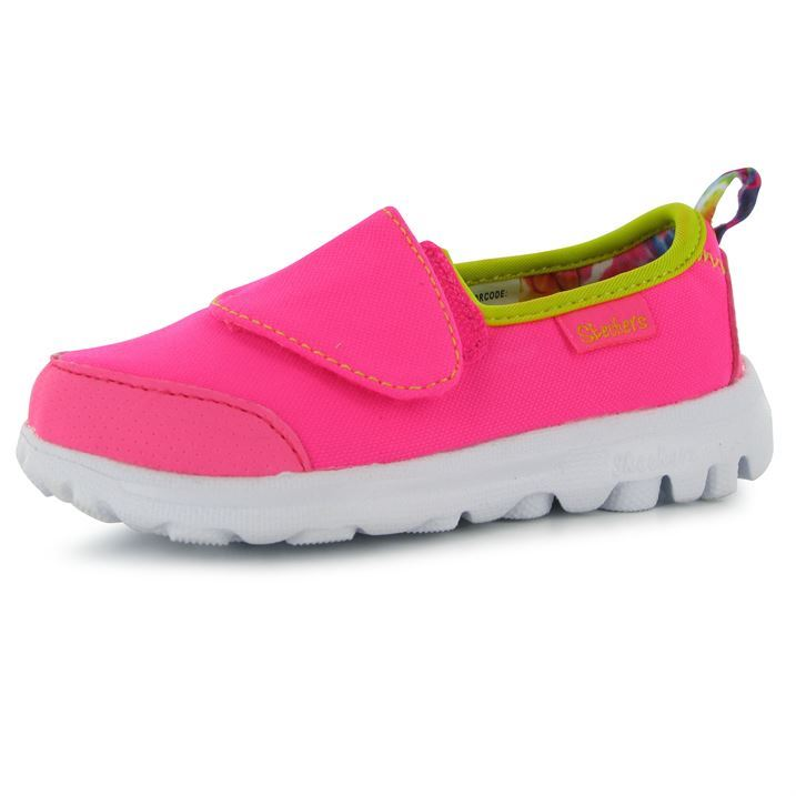 skechers shoes for girls kids. skechers-kids-childrens-go-walk-infant-girls-trainers- skechers shoes for girls kids