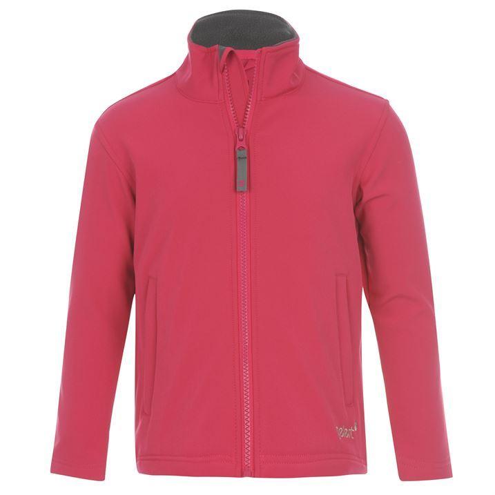 Gelert Kids Softshell Jacket Infant Long Sleeves Fully Zip Front