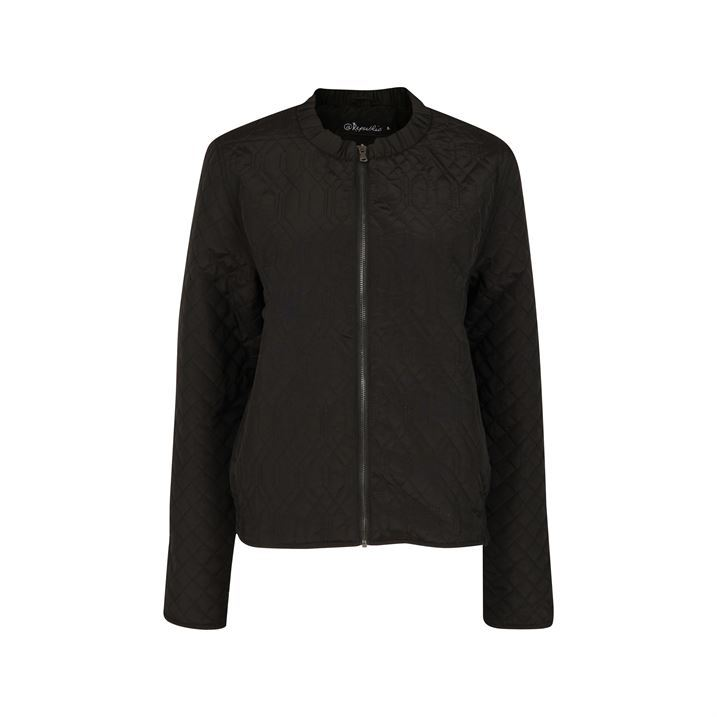 At Republic Womens Ladies Clothing Quilted Bomber Jacket