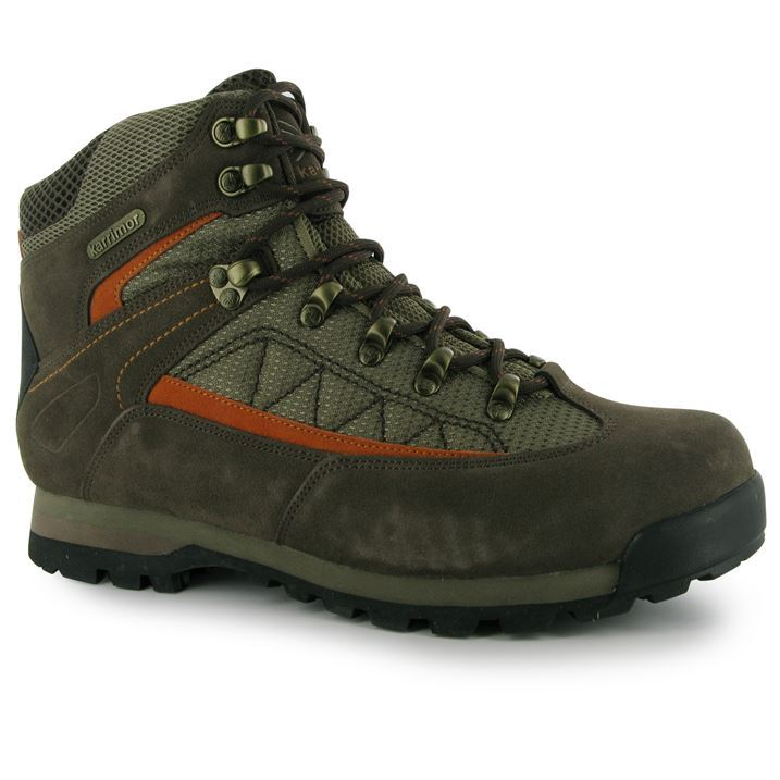 Karrimor-Mens-Gents-Boulder-Mid-Walking-Hiking-Outdoors-Lace-Up-Shoes-Boots