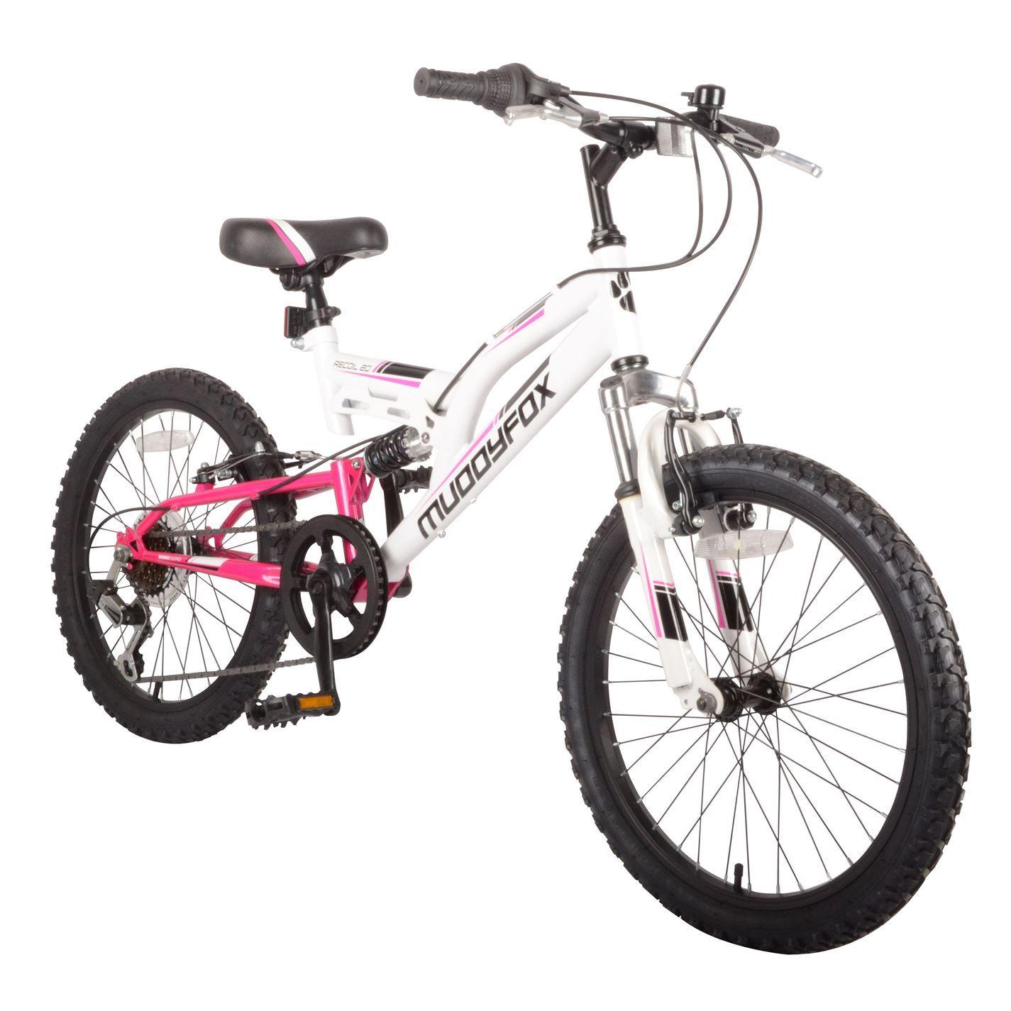 Muddyfox Kids Recoil20 Girls Mountain Bike Dual Suspension