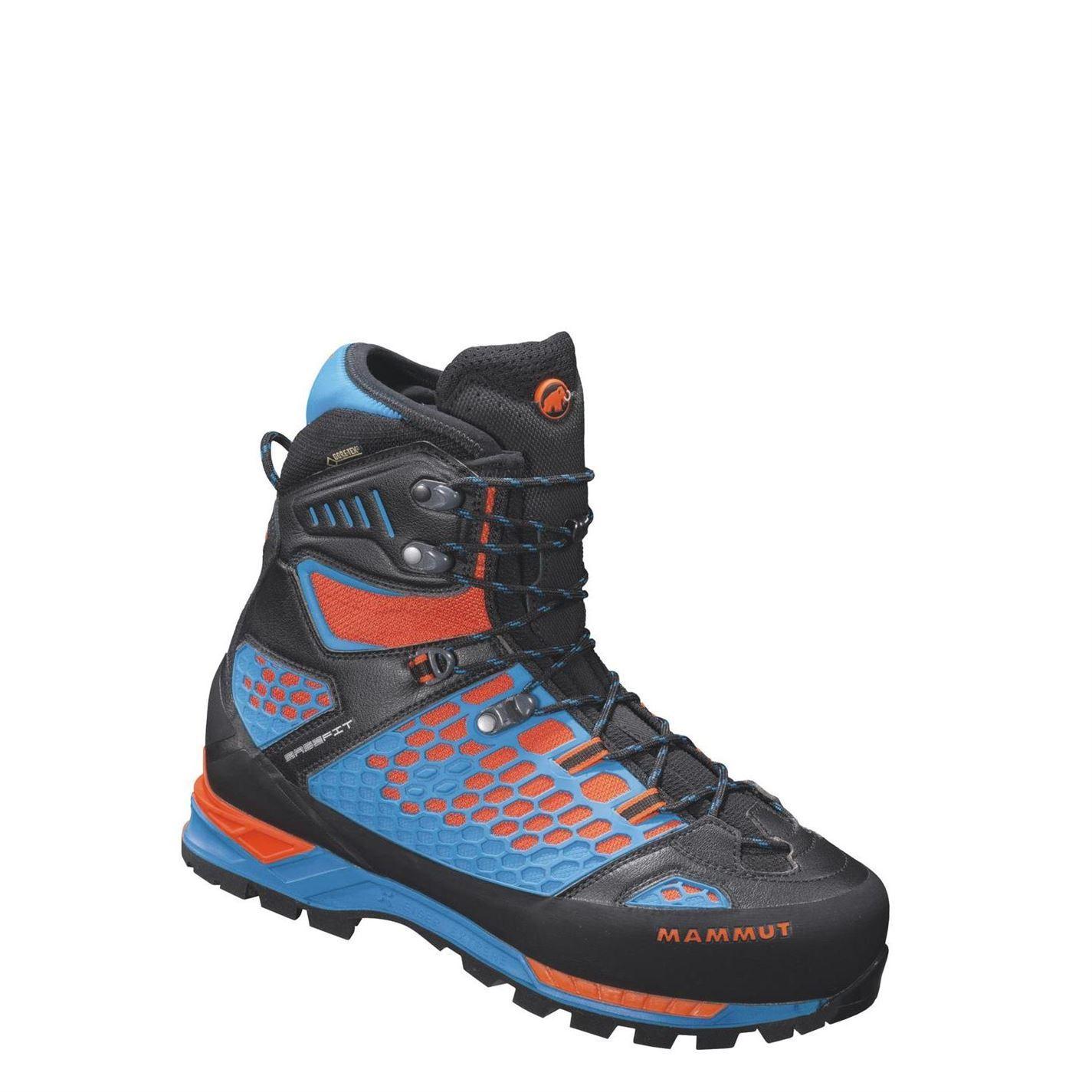 mammut mens eisfeld gtx walking boots lace up hiking
