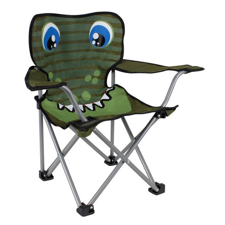 Gelert Kids Animal Chair Junior Folding Chair Seat Furniture