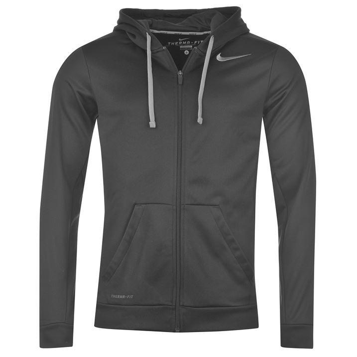 Nike Mens Knock Out Hoody Hoodie Long Sleeve Zip Hooded