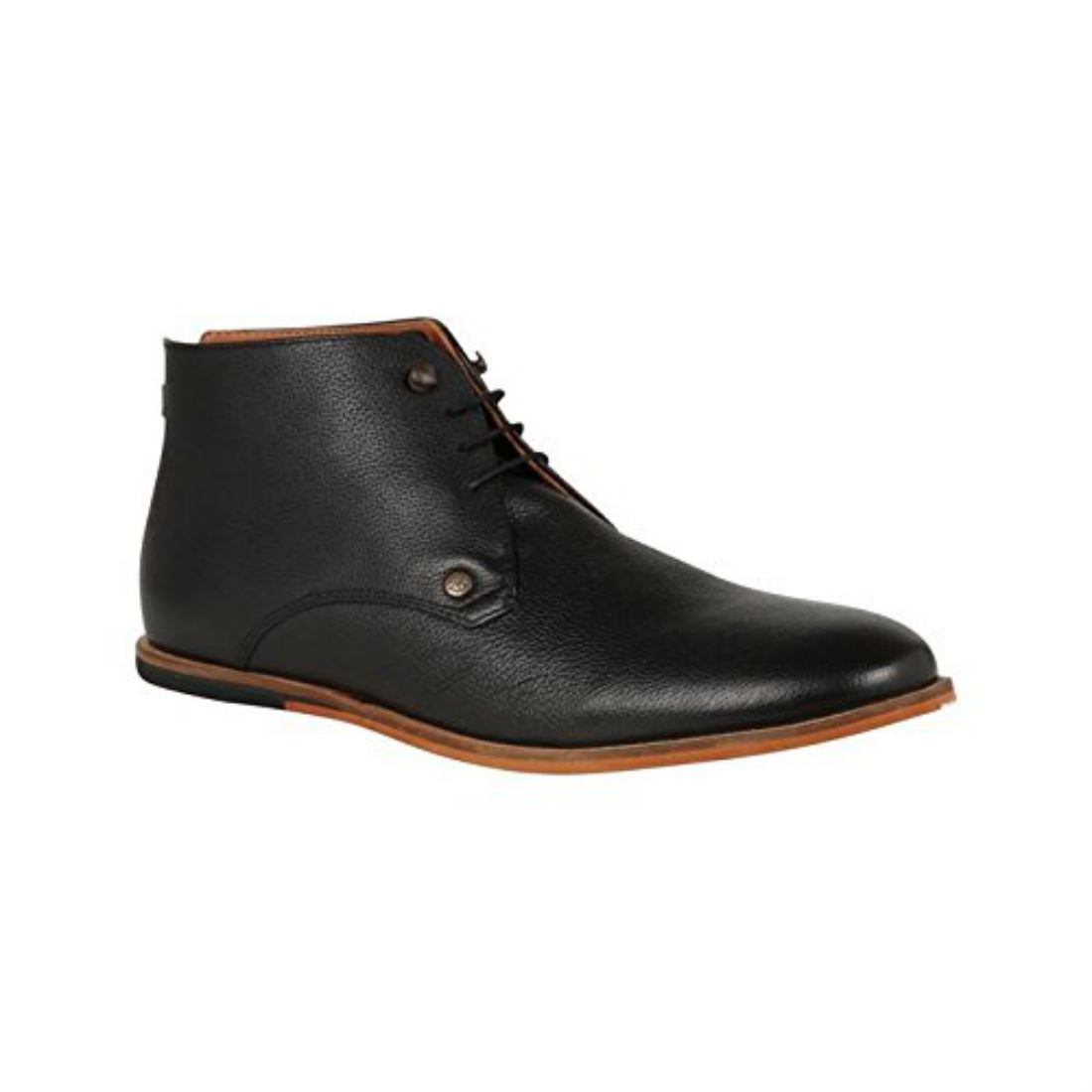 frank wright mens smith premium leather mid ankle cuff