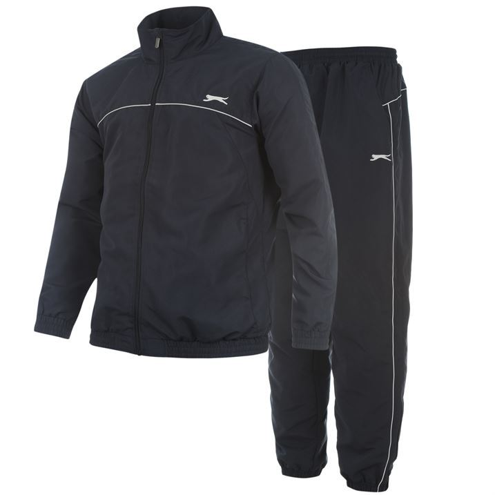 Slazenger Mens Gents Woven Tracksuit Sport Gym Suit Sweatshirt Bottoms Branded