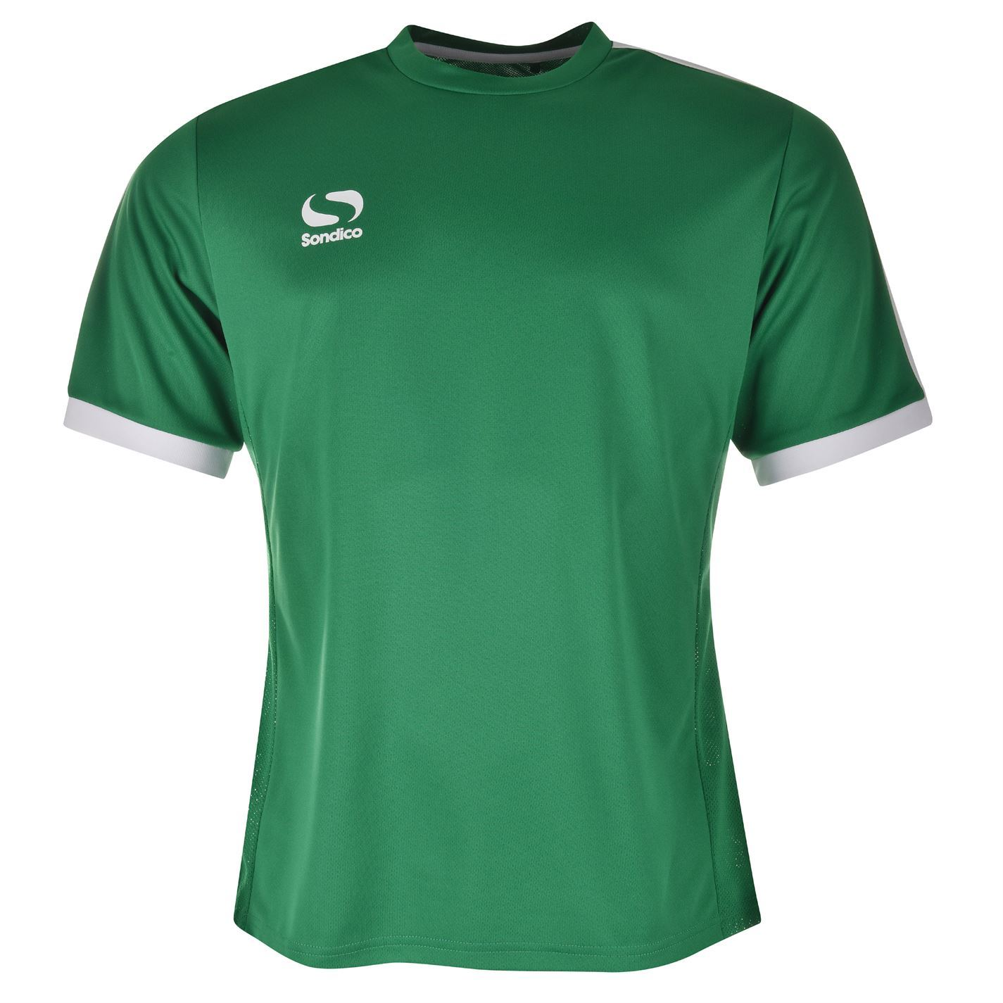 Sondico mens fund polyester football top short sleeve for Best mens sport shirts