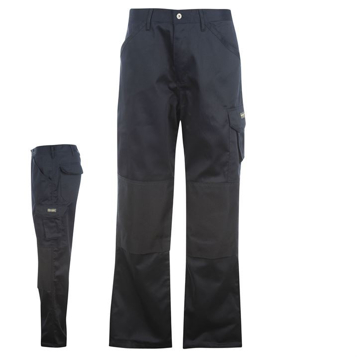 Dunlop Mens Gents Work Trousers Pants Casual Everyday Clothing Wear New