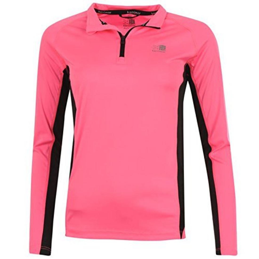 Karrimor Womens Ladies Quarter Zip Long Sleeve Running