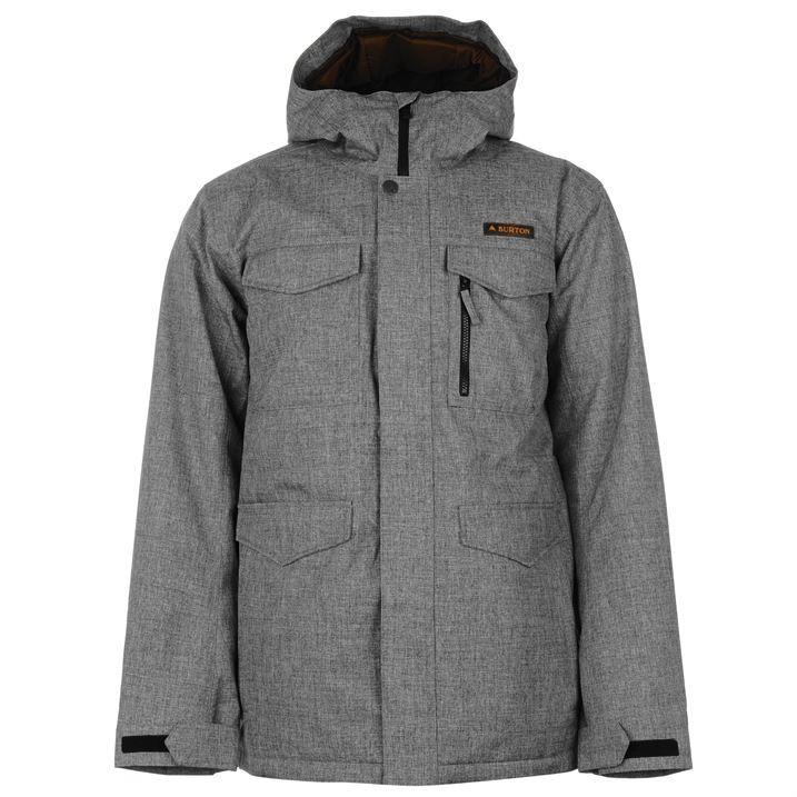 Burton Mens Covert Softshell Jacket Long Sleeve Hooded ...