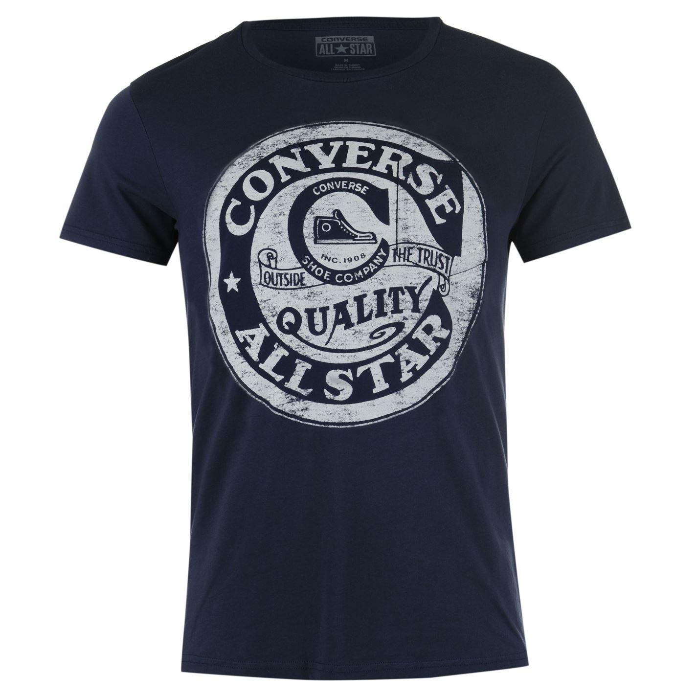 Design t shirt school - Converse Mens Old School T Shirt Casual Top