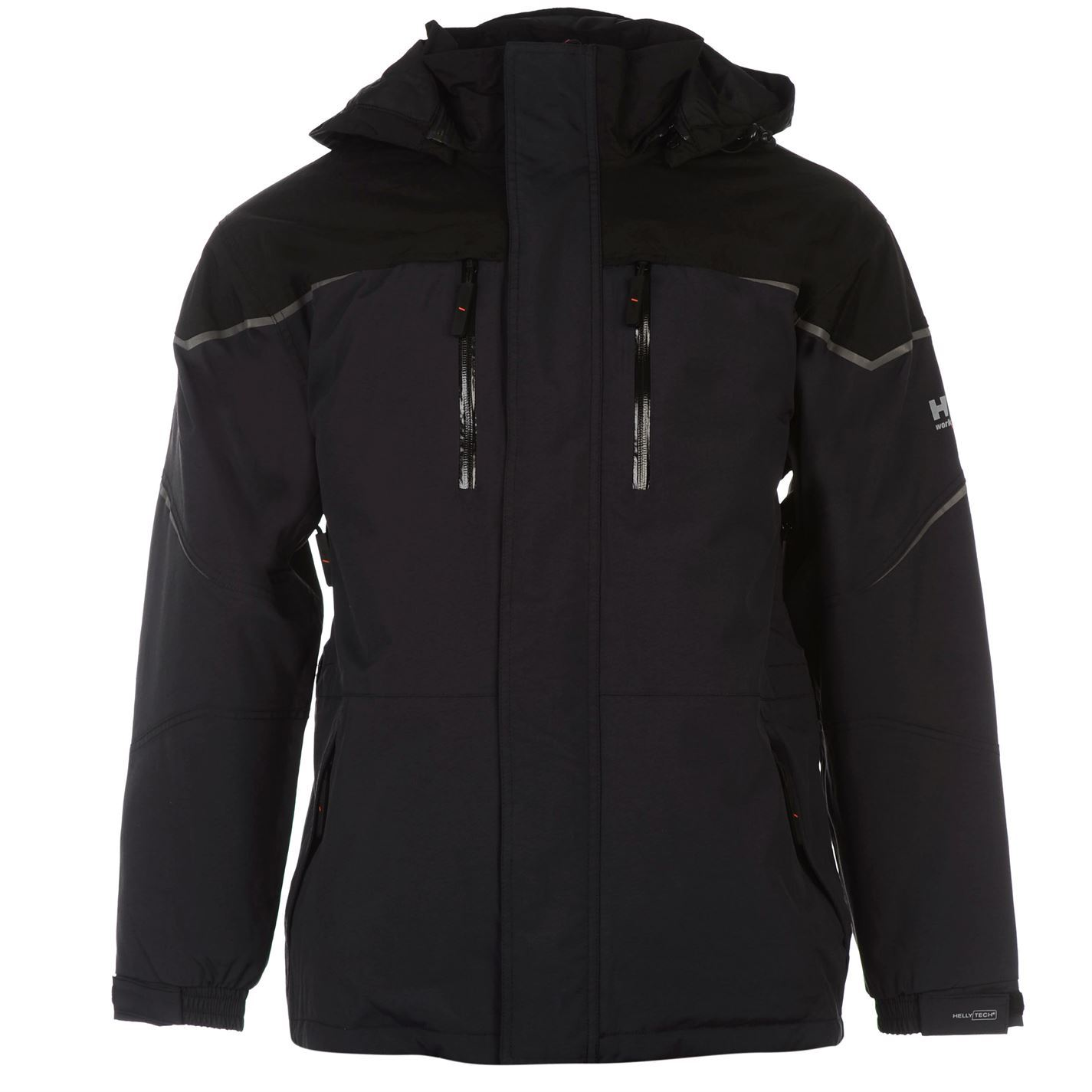 helly hansen mens kiruna parka coat waterproof workwear jacket ebay. Black Bedroom Furniture Sets. Home Design Ideas