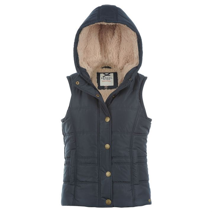 Womens Hooded Gilet Jacket Button Up Fleece Sweater Vest Coat. Gerry Ladies Lightweight Knit Hooded Vest. Black. XXL. by Gerry. $ $ 18 FREE Shipping on eligible orders. Product Description Ladies Lightweight Knit Hooded Vest. White Sierra Cozy Fleece Hooded Vest. by .