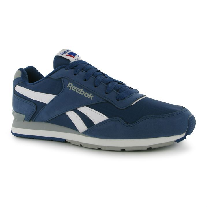 reebok mens glide clip ripstop trainers lace up casual