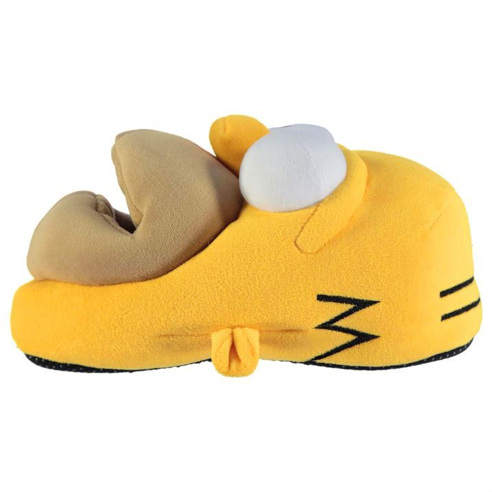 Furry Hat Homer Simpson Slipper is the unmistable image of the popular TV cartoon star. Homer's been known to put his foot in his mouth a few times, and now you can help him do just that by slipping your foot into Homer's outsized face.