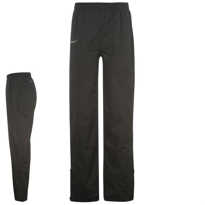 Gelert Mens Gents Horizon Waterproof Trousers Pants Press Stud Ankles Breathable