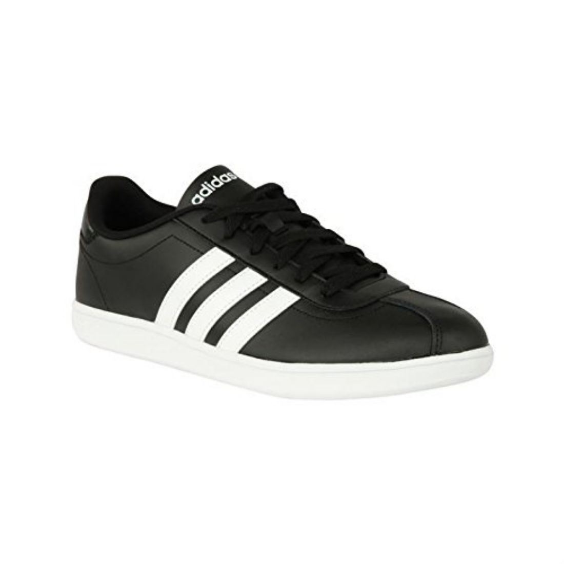 adidas neo mens vl court trainers lace up sport shoes panelled design footwear ebay. Black Bedroom Furniture Sets. Home Design Ideas