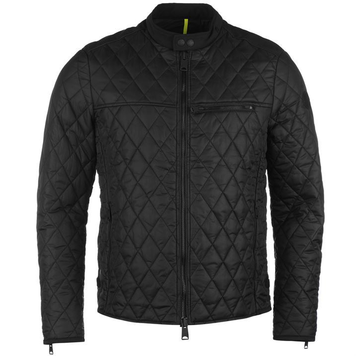 replay quilted jacket mens ebay
