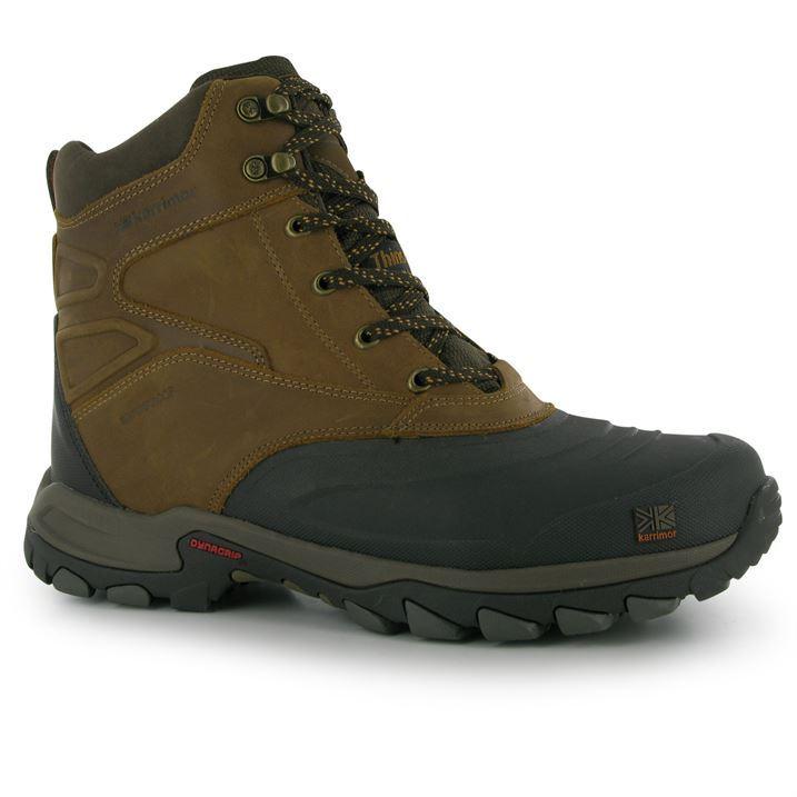 karrimor mens edmonton snow boots winter shoes waterproof