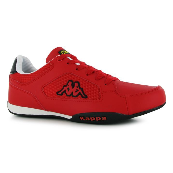 kappa mens rannock trainers lace up fashion casual shoes