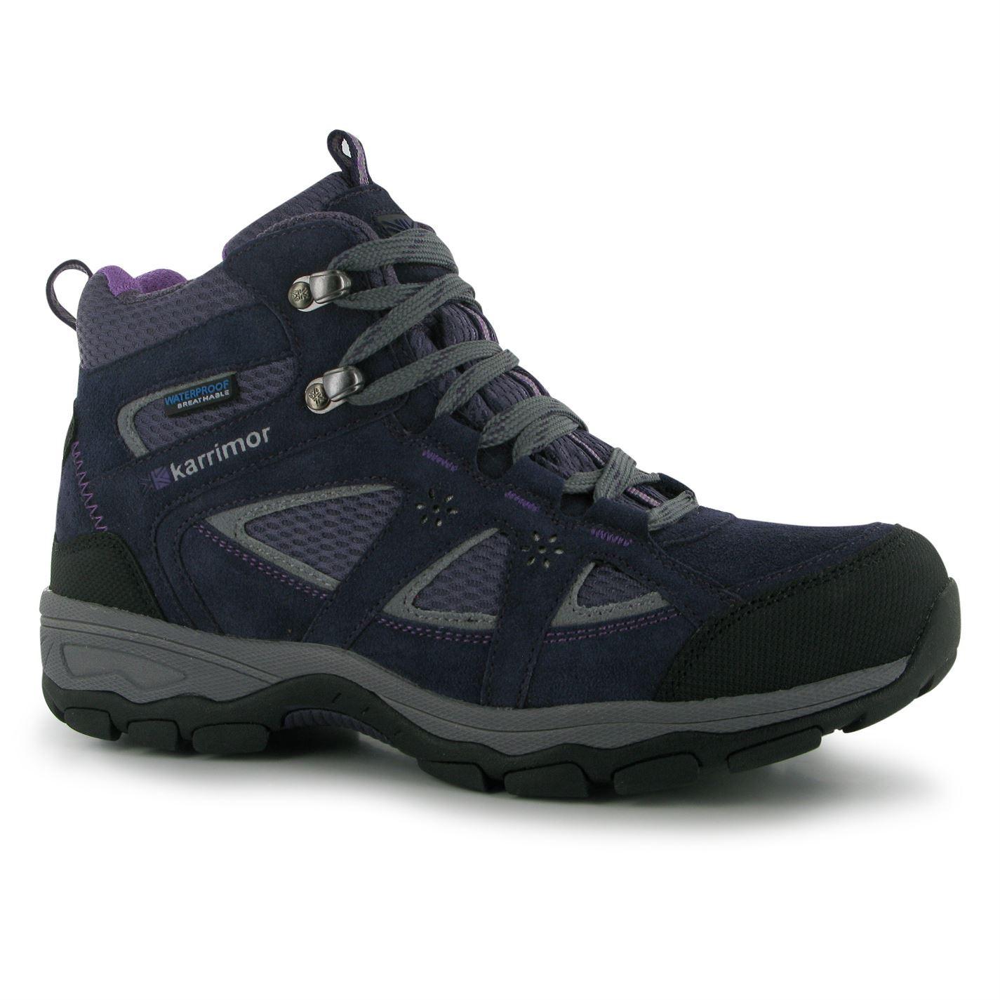 karrimor womens mountain mid top walking boots