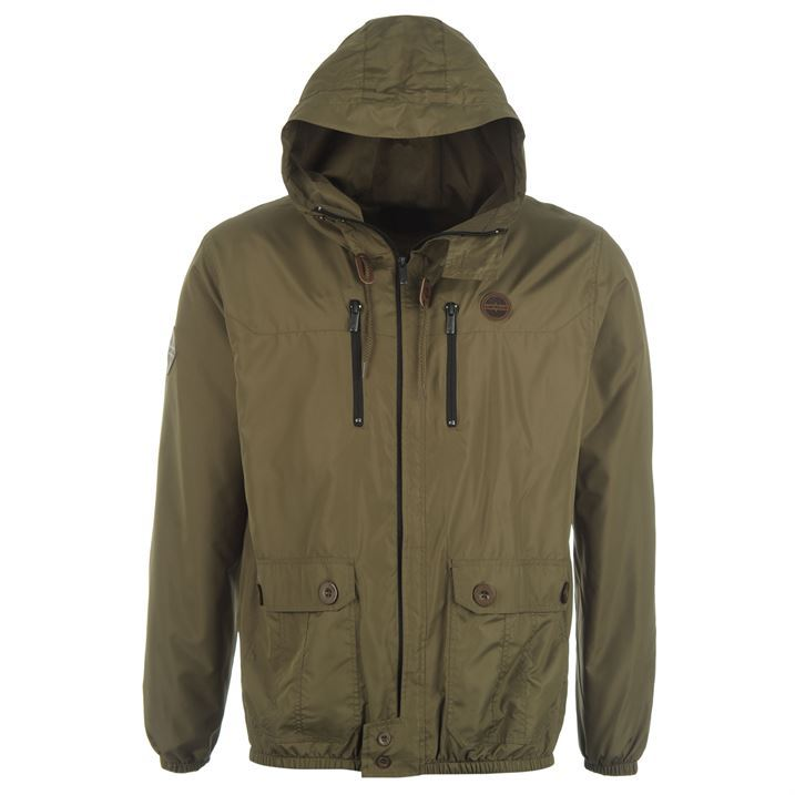 Airwalk Mens Technical Fit Lightweight Hooded Jacket Breathable ...