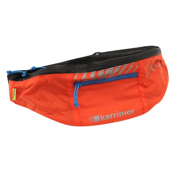 Karrimor Unisex Xlite Bumbag 50 Black Belt Pocket Running Sport Accessories