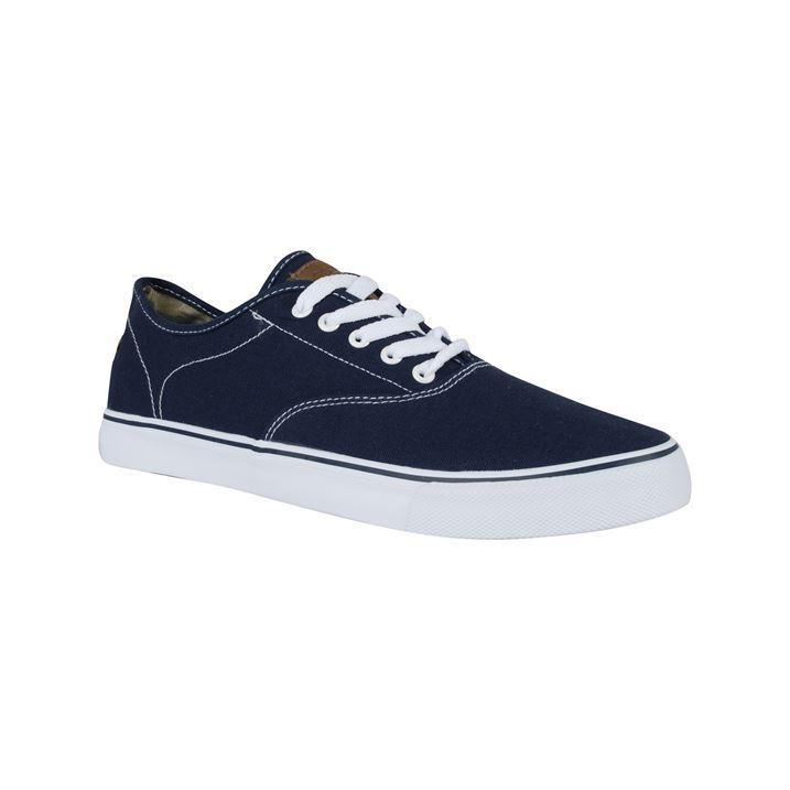 Mens Henleys Lace Up Canvas Shoes