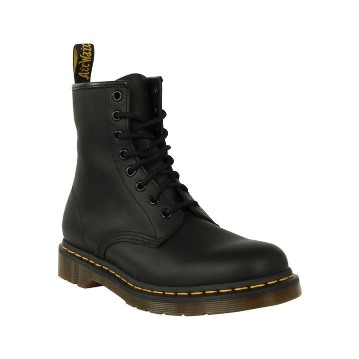 Womens Dr Martens 1460 8 Eye Greasy Boots New