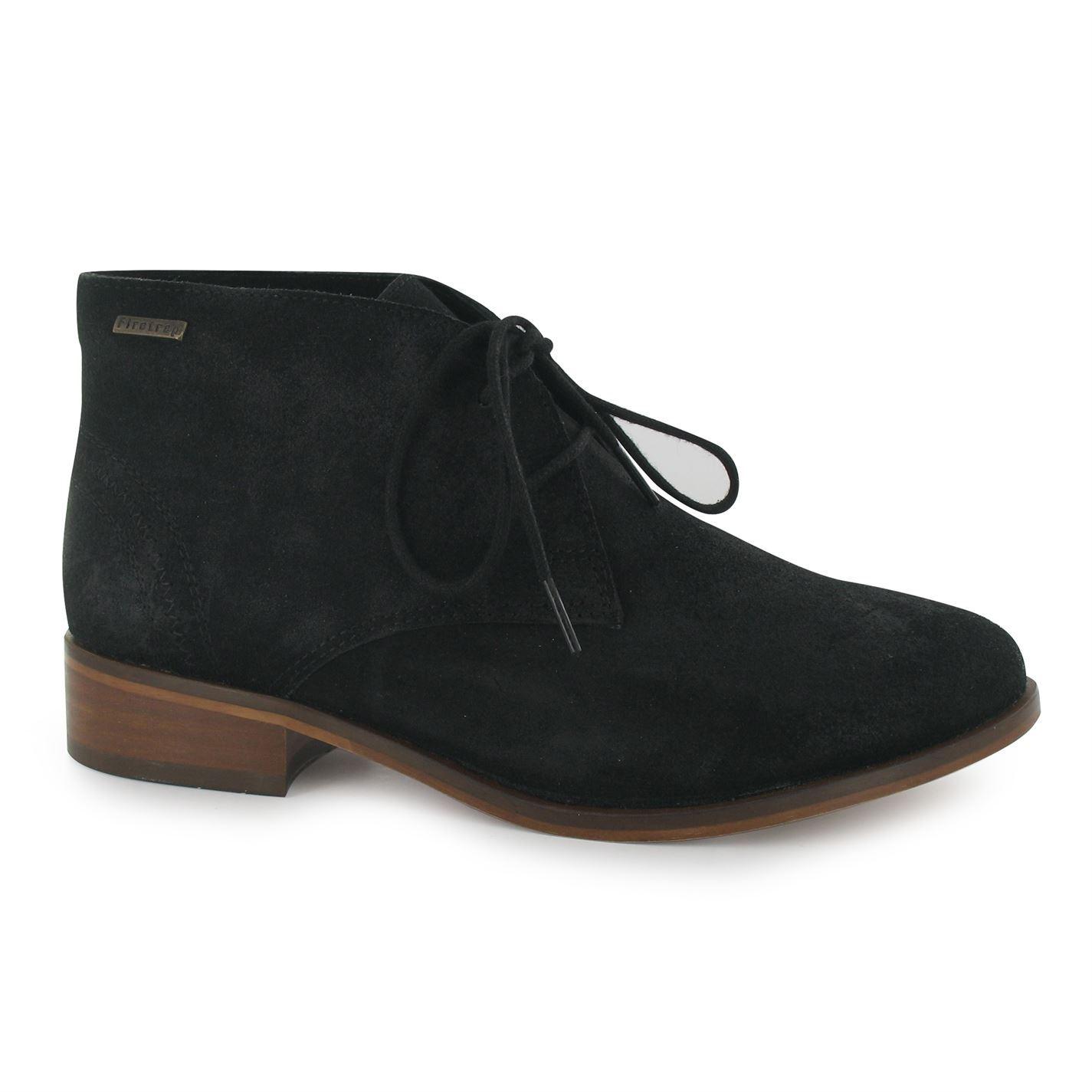 firetrap womens sinita boots slight heel flat ankle