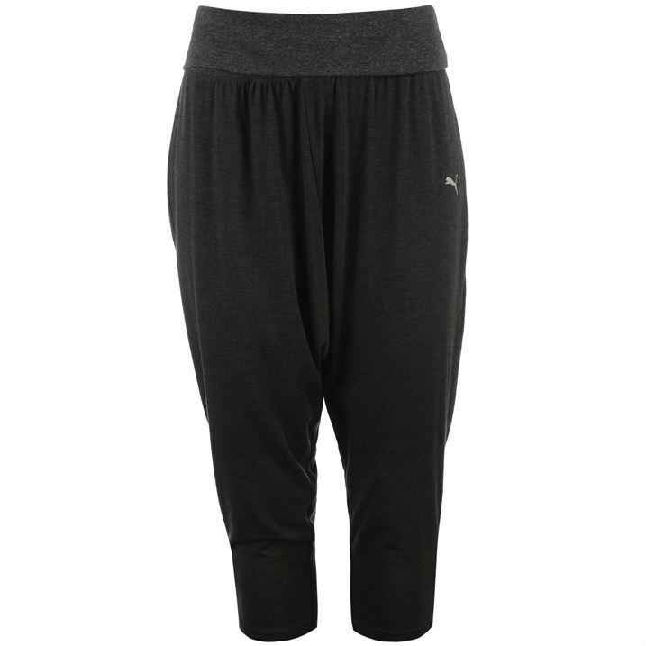 Model Elastic Fitness Tights Women Three Quarter Pants Gym Sports Yoga F7