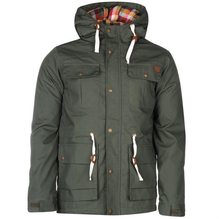 Lee Cooper Mens Padded Jacket Long Sleeve Hooded Hoodie Coat Top Clothing | eBay