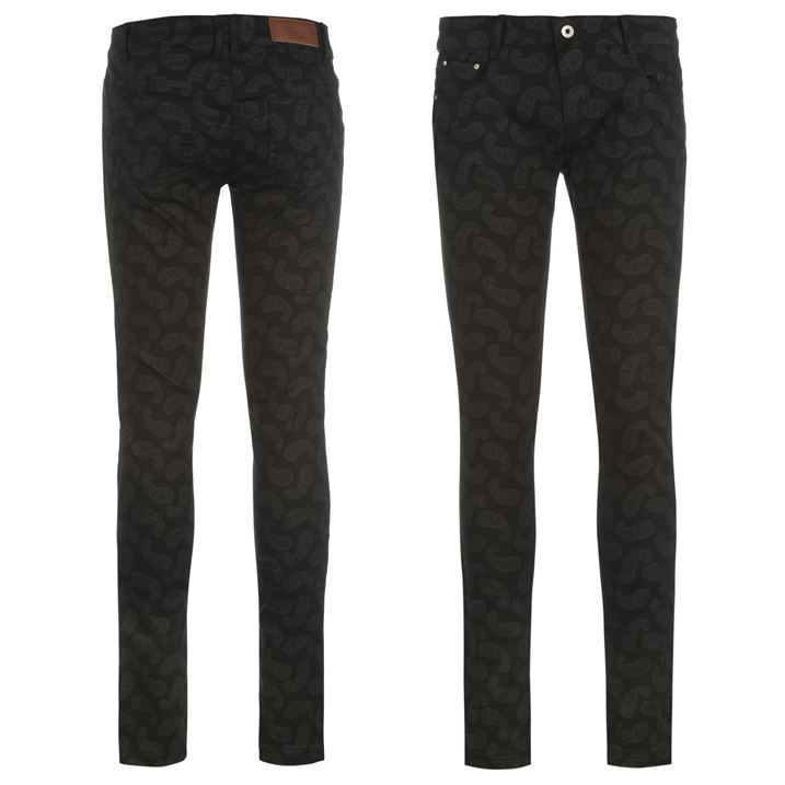 Firetrap-Womens-Paisley-Jeans-Ladies