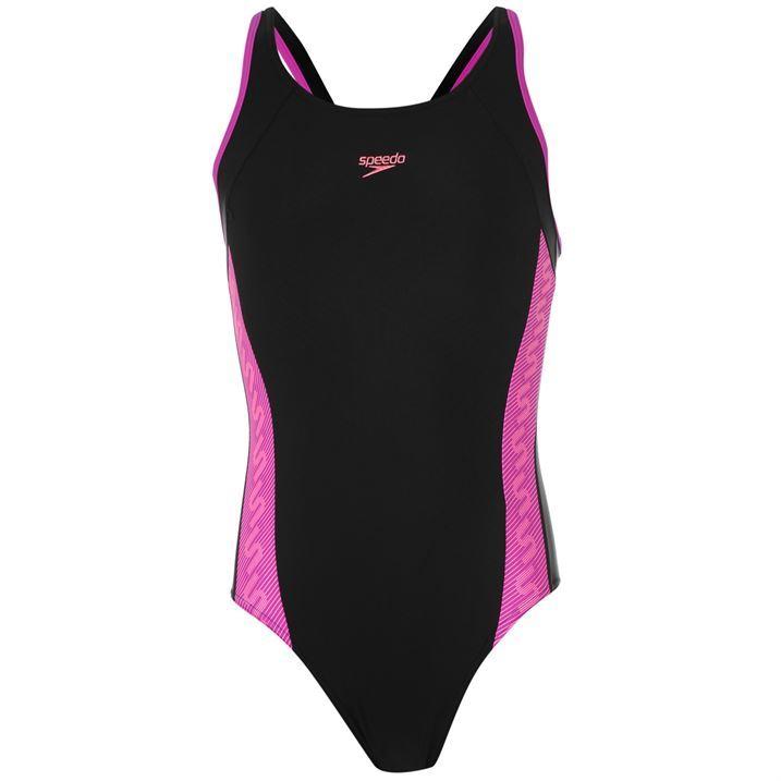 Speedo Kids Junior Girls Mono Muscleback Swimsuits ...