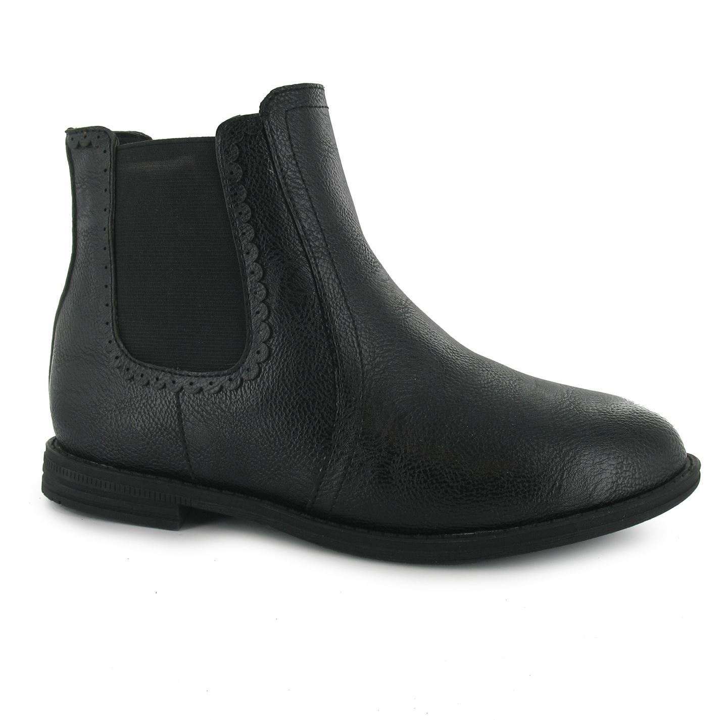 miso chelsea juniors boys boots flat low heel ankle