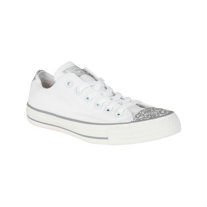 Converse Toe Cap Converse-womens-ox-toe-sparkle