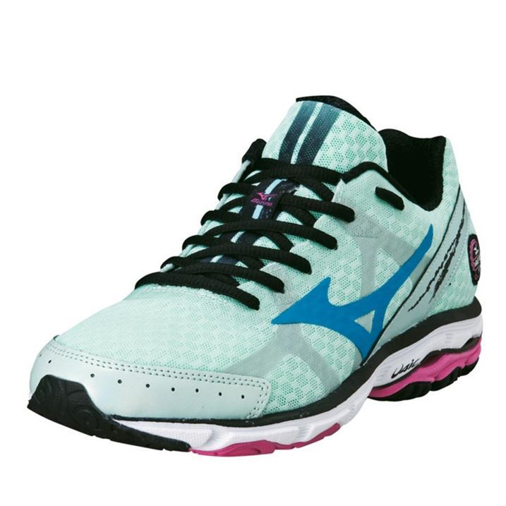 Mizuno-Womens-Ladies-Wave-Rider-17-Running-Shoes-Trainers-Lace-Up