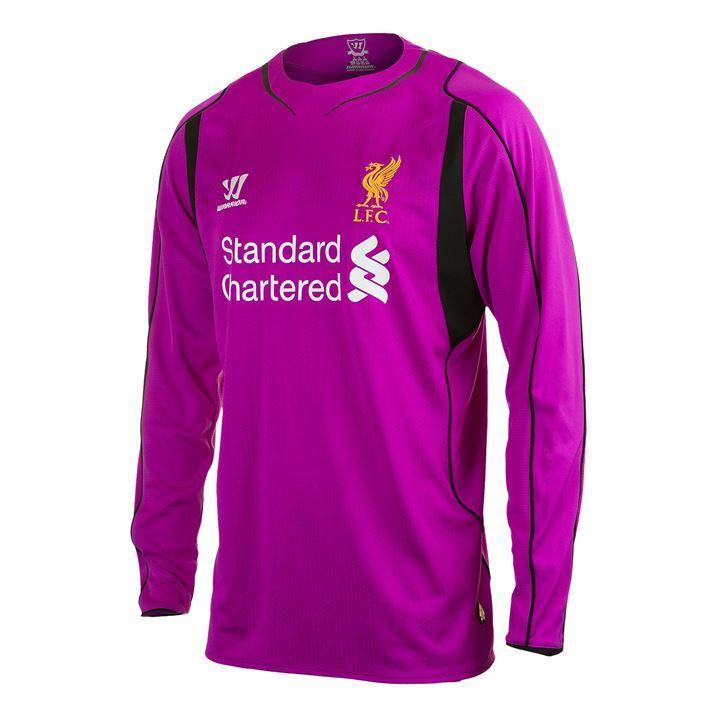 Warrior-Mens-Liverpool-Home-Shirt-2014-2015-Football-Goalkeeper-Long-Sleeve
