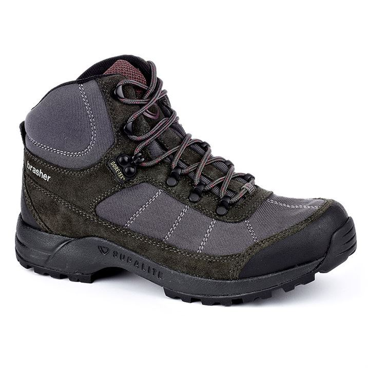 Original Brasher Hillmaster 2 GTX Womens Walking Boots By Brasher  Breaking