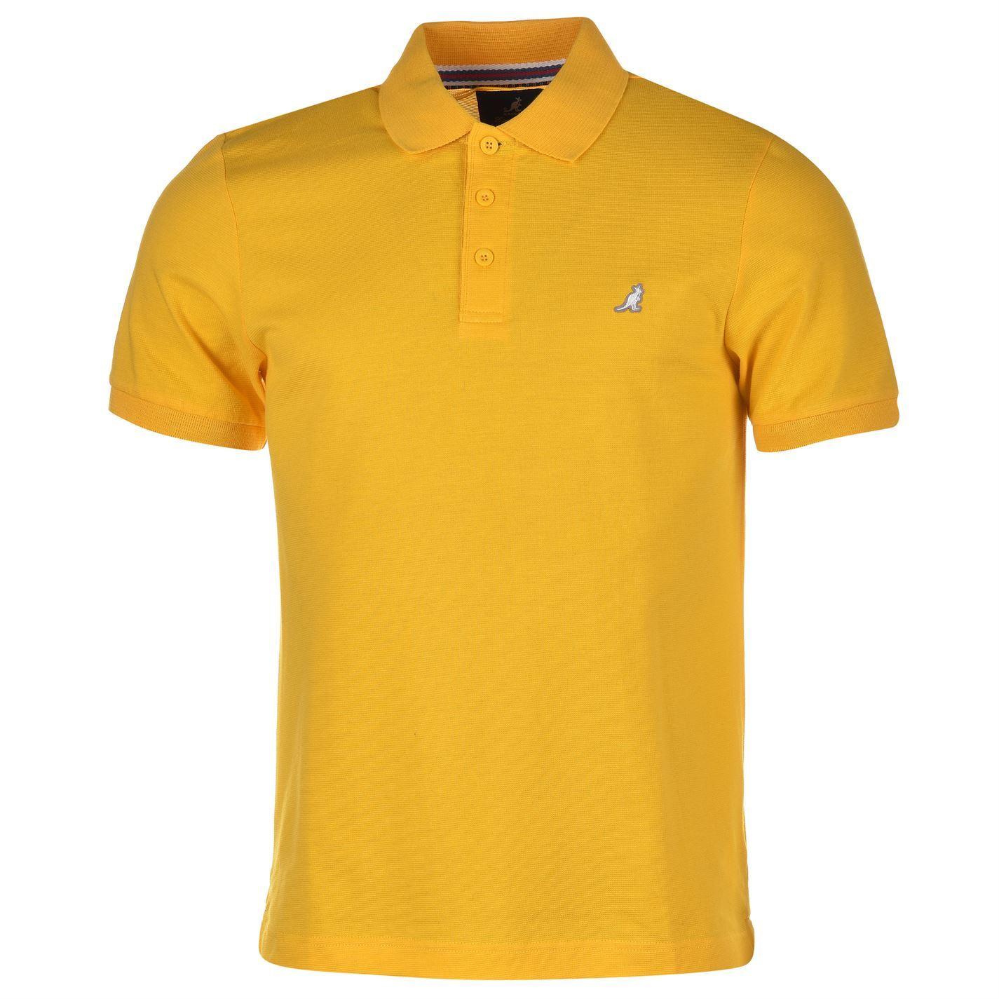 Kangol mens brit fit polo t shirt tee top short sleeve for Best fitting men s dress shirts