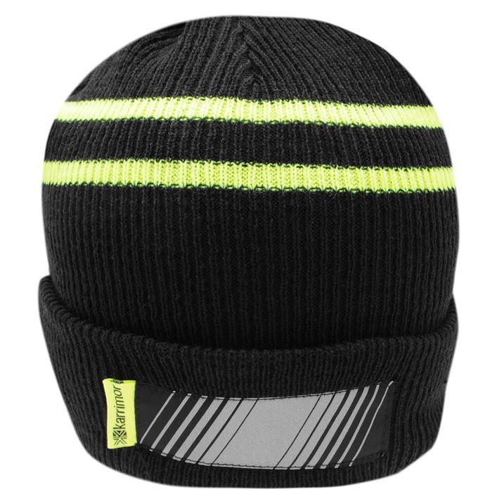 Knitting Pattern For Running Hat : Karrimor Mens Knit Run Hat eBay