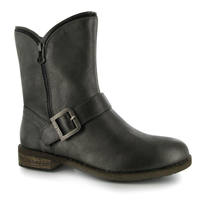 firetrap womens warm winter boots side zip