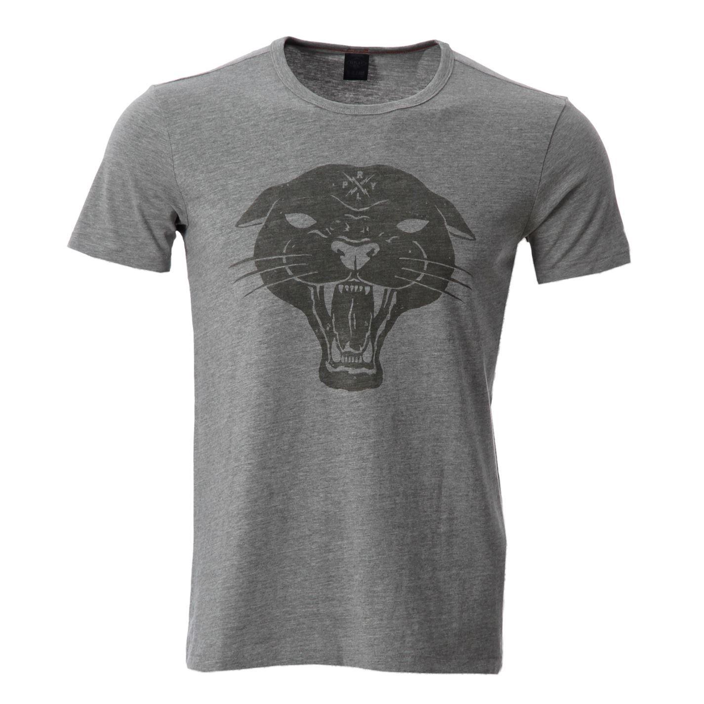 Replay Print Tee T Shirt Snr51 Mens Gents Ebay