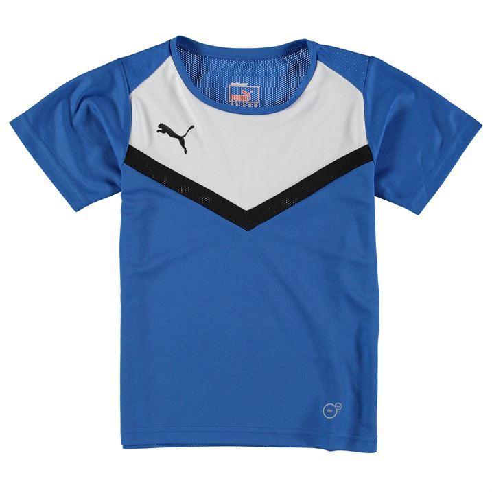 Puma Kids Juniors Boys Bts T Shirt Short Sleeve Crew Neck