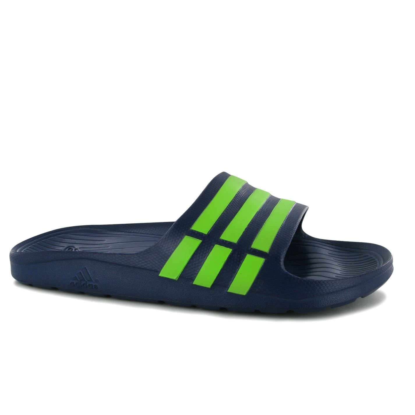 adidas mens duramo slide on pool shoes sandals slippers