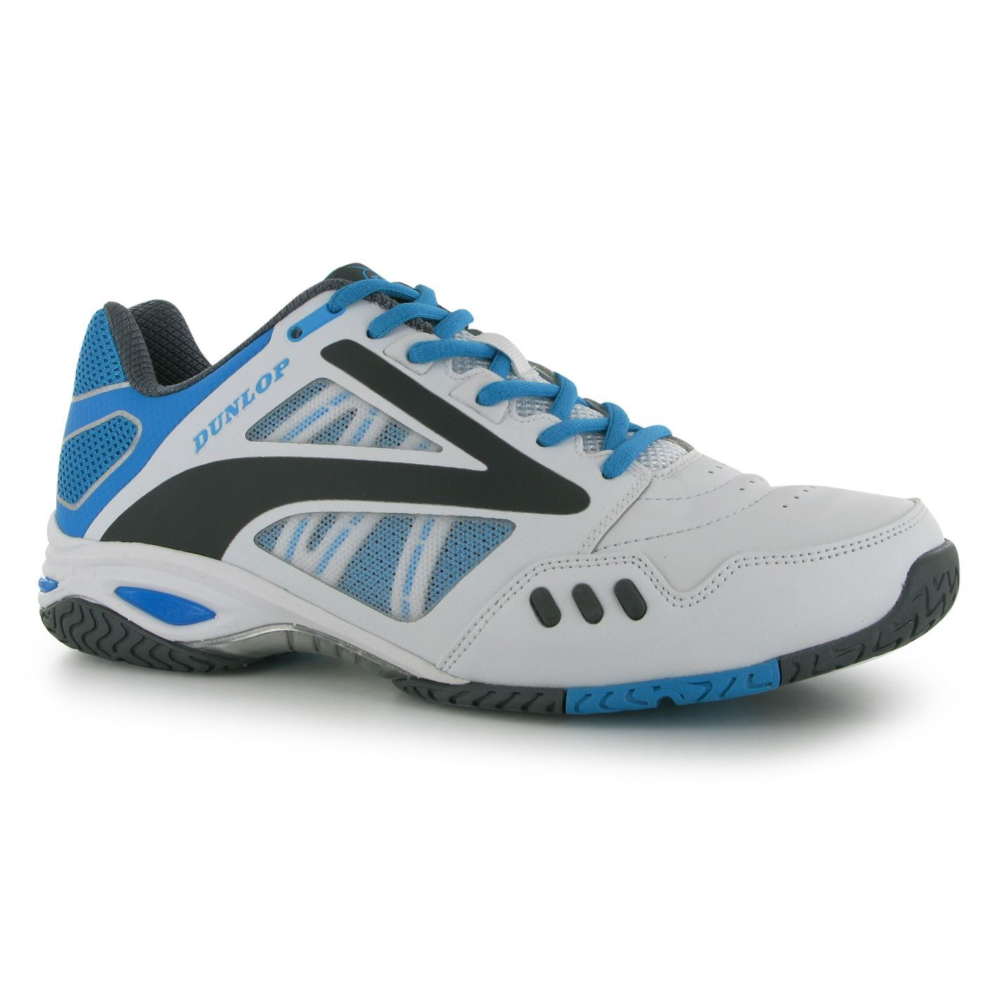 dunlop mens flash team ii tennis shoes trainers sport