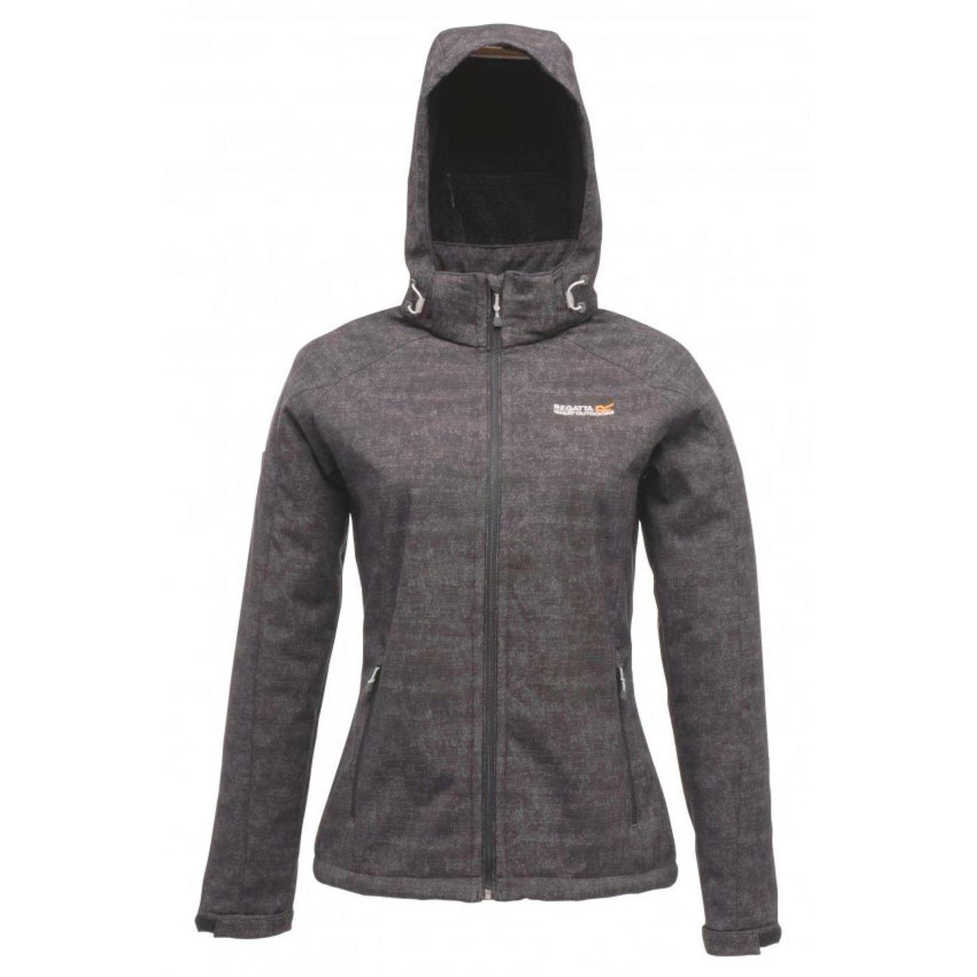 Regatta Womens Ladies Jacket Tallis Fleece Hooded Full Zip Top ...