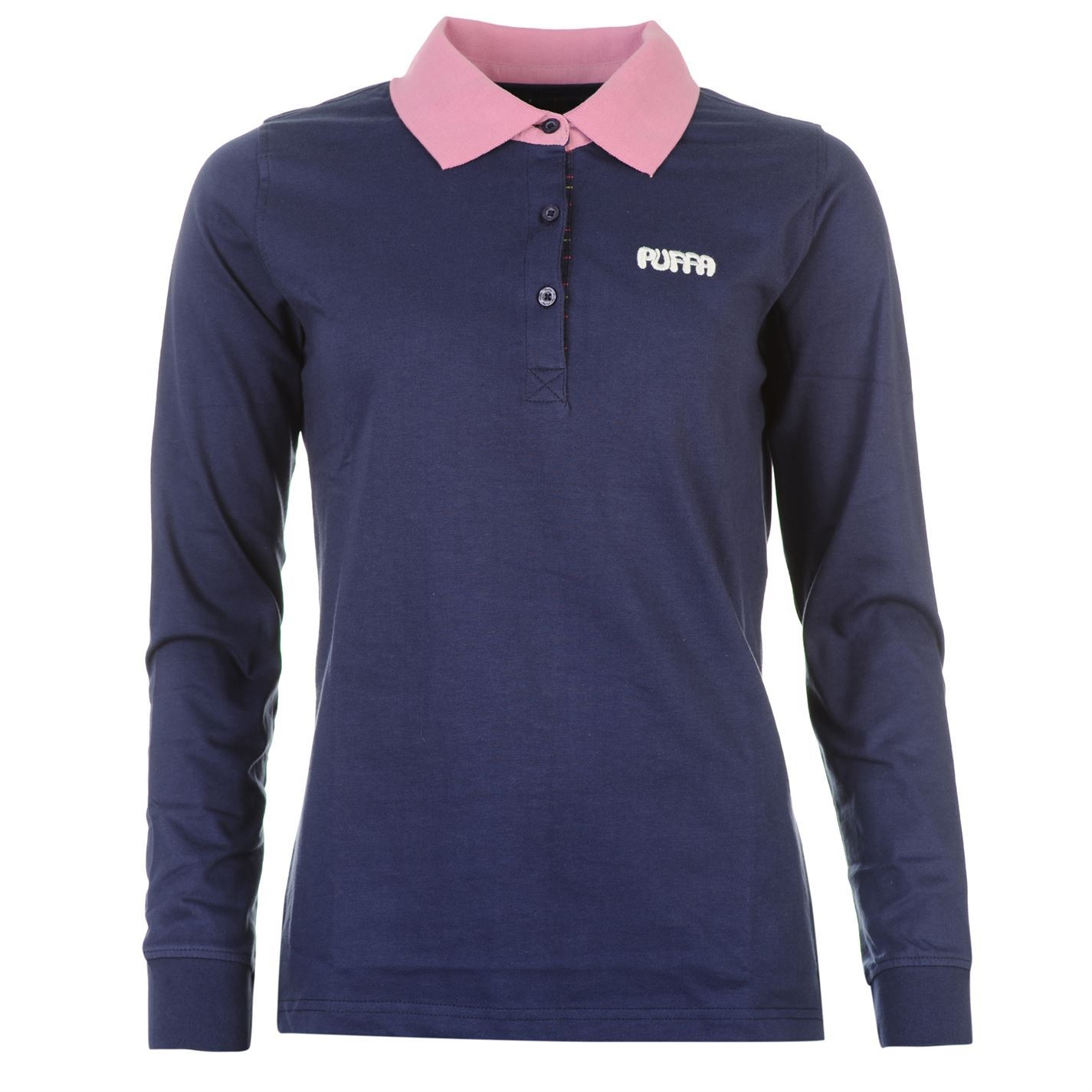 Puffa Womens Ladies Bennet Horse Riding Polo Shirt Long