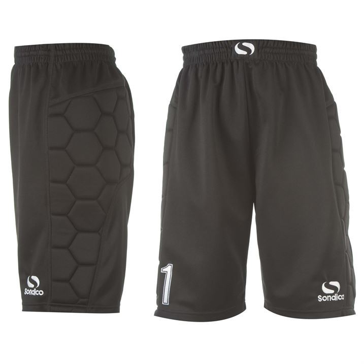 Sondico-Mens-Gents-Goalkeeper-Pad-Padded-Shorts